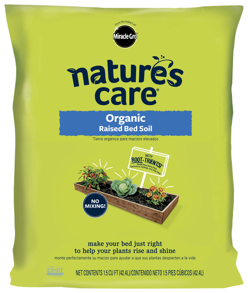 natures care organic raised bed soil - Miracle Gro Garden Soil