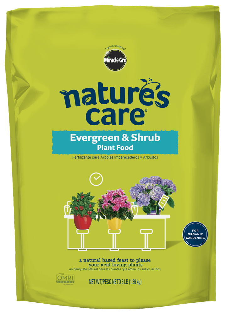 Natures Care Evergreen Shrub Plant Food New Natures Care
