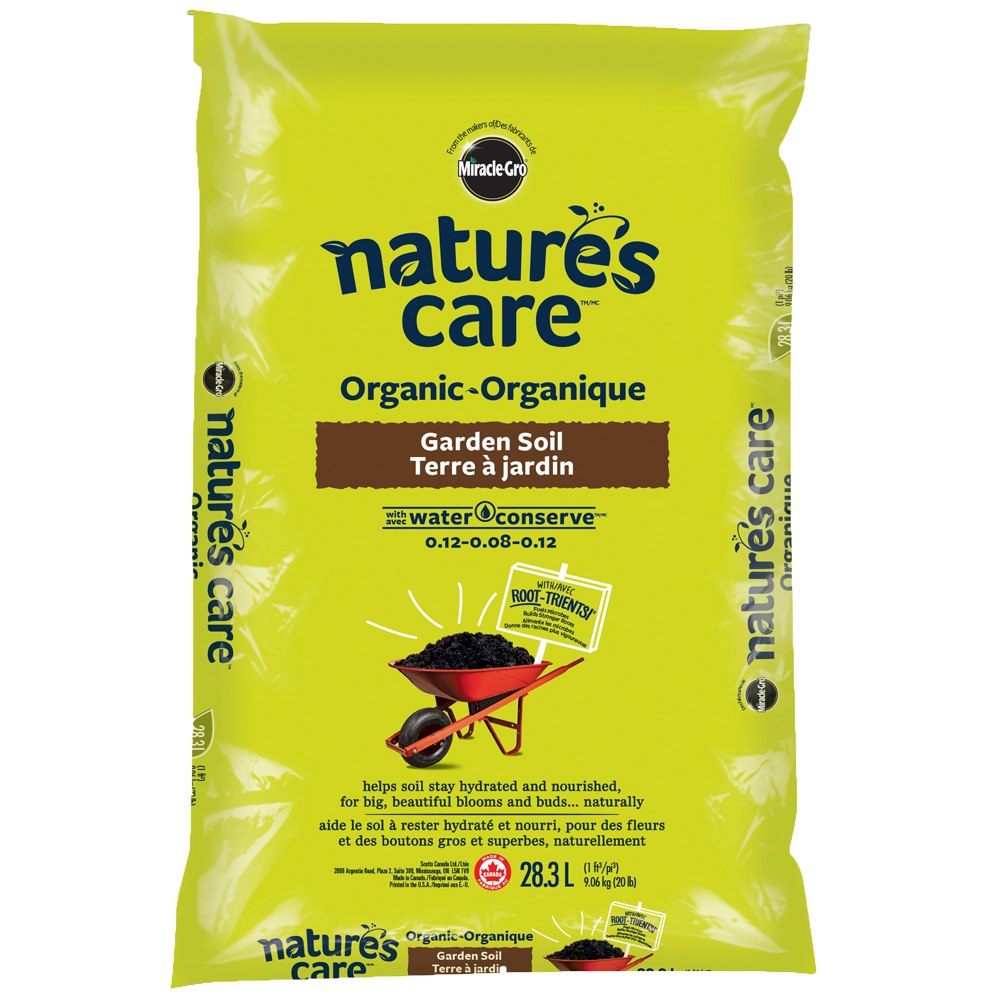 Nature 39 s care organic garden soil with water conserve - Nature s care organic garden soil ...