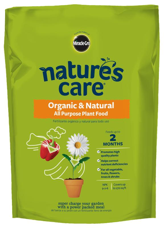 Nature's Care® Organic & Natural All Purpose Plant Food