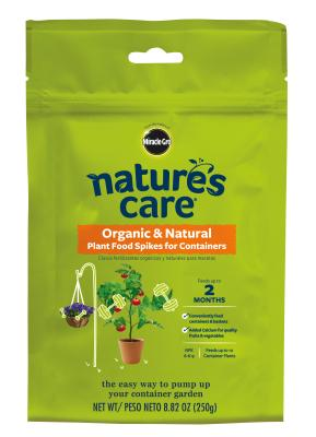 Nature's Care® Organic & Natural Plant Food Spikes for Containers