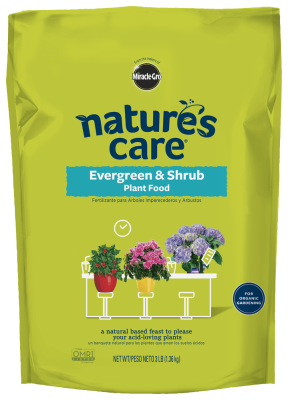 Nature's Care® Evergreen & Shrub Plant Food (NEW)
