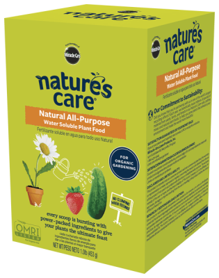 Nature's Care® Natural All-Purpose Water Soluble Plant Food (NEW)
