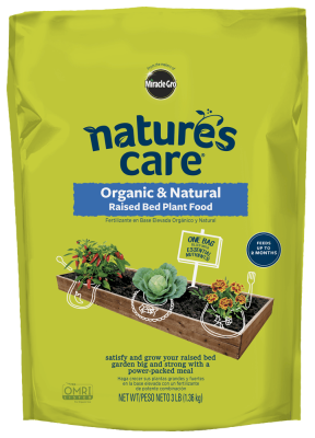 Nature's Care® Organic & Natural Raised Bed Plant Food (NEW)