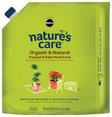 Nature's Care® Organic & Natural Tropical & Palm Plant Food