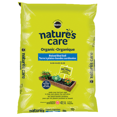 Nature's Care® Organic Raised Bed Soil 0.10-0.07-0.10